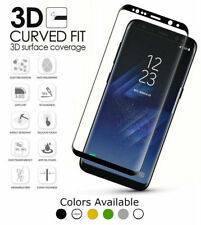 Premium 9H Samsung Galaxy S7 Edge 3D Cover Tempered Glass Screen Protector