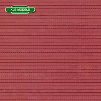 BNIB N GAUGE VOLLMER 47353 CLAY OR CEMENT TILE ROOF PLASTIC SHEET 149mm X 109mm