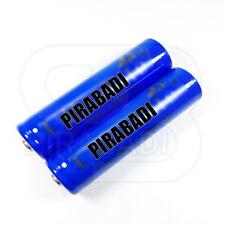 2 x LITHIUM ION PILE 3,7 V 6800 mAh Type 18650 Li - ion 65 x 18 mm BATTERIE ACCU