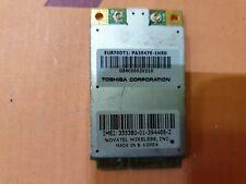 More details for novatel wireless eu870dt1 toshiba pa3547e-1hsd umts wwan card minipci b231