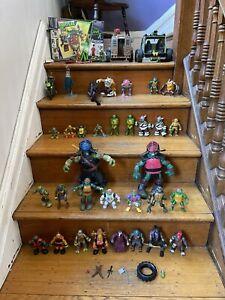 Teenage Mutant Ninja Turtles TMNT Lot Action Figures & Accessories 30+