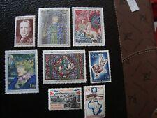 FRANCE - timbre yvert/tellier n° 1423 a 1429 1432 n** MNH (A44) (A)