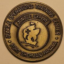 Jungle Expert Operations Training Center Ft Sherman Panama Army Challenge Coin O