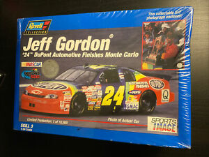 JEFF GORDON #24 DUPONT limited Edition CHEVY MONTE CARLO 1/24 REVELL Model Kit