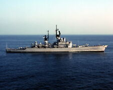New 8x10 Photo: USS ENGLAND (DLG/CG-22), Leahy-Class Guided Missile Cruiser