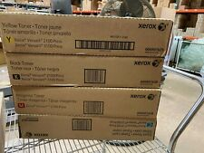 NEW Genuine Xerox Versant 2100/3100 CMYK TONER SET 6R1626/6R1627/6R1628/6R1629