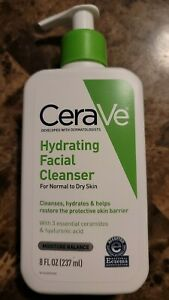 Cerave Hydrating Facial Cleanser Normal to Dry Skin 8 oz