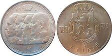 Belgium km 139.1 100 franchi del 1951 in MS 65 STG