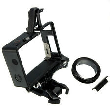 Mount Standard Protective Housing The Frame For GoPro Hero3 3+4 &UV Protector SN