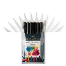 Artist pen-BASIC, 6er set Faber-Castell 167103