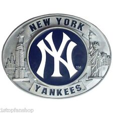 New York Yankees 3-D Metal Belt Buckle Commemorative Edition MLB Licensed