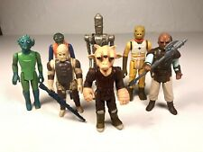 Star Wars Vintage Bounty Hunter Lot Bossk IG-88 Greedo Weequay Warlus Ree-Yees