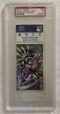 Wayne Gretzky Last Final NHL Game Ticket Stub Graded PSA 7 April 18, 1999