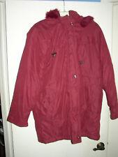 Carroll Reed Women's Winter Coat / Parka w/ Hood - Large