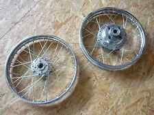 Restauriert: Felgensatz Rädersatz Radsatz Honda CB 250 350 K CB350F CB400F Four