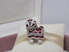 New w/Box Pandora Dancing Lion Chinese New Year CNY Charm 792043CZ Karate Shi