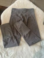 LULULEMON wunder under tights pants Wee Are From Space Coal Fossil size 4