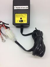 Battery Charger 6v - 12v - UK Plug - Ideal for Sealed & Gel Batteries -