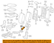 TOYOTA OEM 14-18 Tundra Passenger Seat-Upper Duct Right 588600C030C0