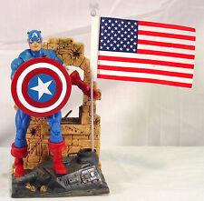 CAPTAIN AMERICA~Marvel legends~LOOSE~COMPLETE~SERIES 1~  HIGH GRADE~ H