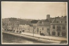 Postcard Malta view of Misida Creek as used by British 1st Sub Flotilla 1928 RP