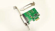 Parallel PCIe Printer Port Adapter IO Card w/Low Profile 1284 DB25 PCI e Express