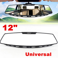 Universal 305mm Wide Curve Convex Interior Clip On Panoramic Rear View Mirror