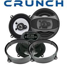 Crunch Lautsprecher 13cm & Adapterringe für Citrön C3 hinten