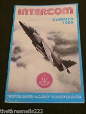 AIRCREW ASSOCIATION - INTERCOM - SUMMER 1992