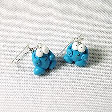 berk drop earrings trap door 80s retro cute