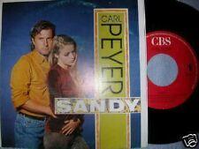 """7"""" CARL PEYER SANDY WEITERGEHN CBS"""