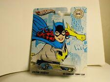 2012 Hotwheels Nostalgia DC Comics BATGIRL 59 CADILLAC FUNNY CAR  real riders RR