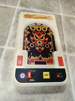 """""""Raise the Devil"""" Entex Pinball Handheld Electronic Game (1980) Tested, issues"""