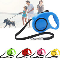 3m Automatic Retractable Dog Leash Pet Collar Walking Lead Traction Rope Cord