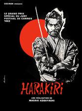 "18x24""Poster Decor.Room design art print..Harakiri movie.Samurai ritual.6110"