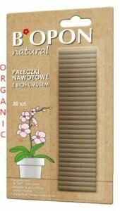 ORGANIC  Natural Fertilizer Sticks with Vermicompost Feeds Plants Flowers