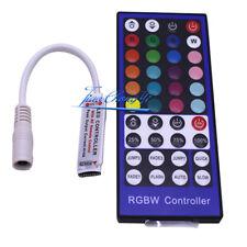 40Key 5pin RGBW RF Remote Controller For 3528 5050 RGBW RGBWW LED Strip 12-24V
