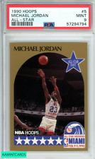 1990 HOOPS MICHAEL JORDAN #5 ALL STAR CHICAGO BULLS GOAT HOF PSA 9 MINT