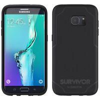 Griffin Samsung Galaxy S7 Edge Survivor Journey ShockProof Case Cover Black/Grey