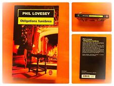 Obligations funèbres. Phil Lovesey. Policier Le Livre de Poche N° 17254