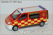 Renault Trafic phase II Secours Médical éch HO 1/87 éme SAI 3627 RIETZE SAI