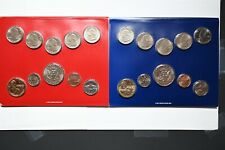 2018 P and D ANNUAL US Mint Uncirculated Coin Set with 20 Coins Complete w// COA