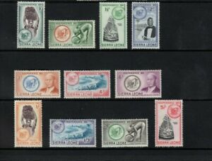 Sierra Leone 1961 Independence set to 5/- mint