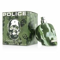 Police To Be Camouflage Special Edition Eau De Toilette New in Box 75ml 2.5oz
