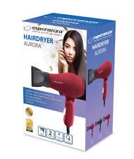 Reise Haartrockner klappbarer Haar Föhn klappbar kompakt Fön Rot modern Design