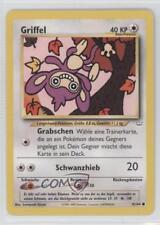 2001 Pokemon Neo Revelation Booster Pack Base German Unlimited #41 Griffel 1l2