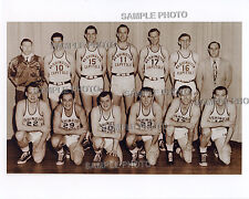 1948-49 WASHINGTON CAPITOLS BAA BASKETBALL 8X10 TEAM PHOTO PICTURE