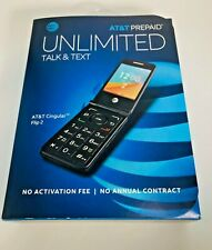 At&T Prepaid Cingular Flip 2 Cell Phone - 2Gb-Gray- 4G Lte - Factory Sealed!