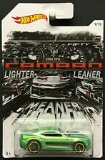 2018 Hot Wheels - Camaro 50th Anniversary - '16 Camaro SS - Green - #9/10