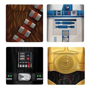 Star Wars - Teller 4er-Pack : Characters